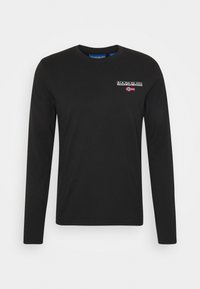 S-ICE  - Maglietta a manica lunga - black