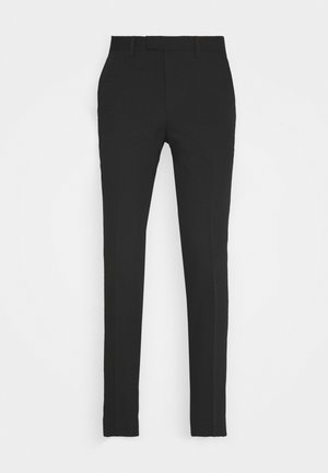 JPRVINCENT TROUSER - Suit trousers - black