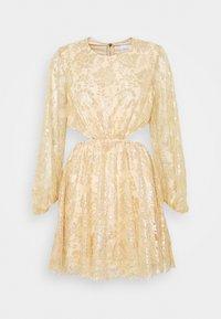 Alice McCall - MAGIC THINKING MINI DRESS - Koktejlové šaty/ šaty na párty - gold - 0