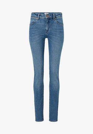 SLIM - Slim fit jeans - light-blue denim