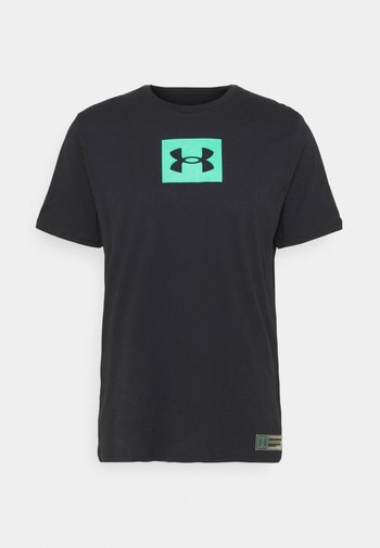 BOXED ALL ATHLETES - Print T-shirt - black