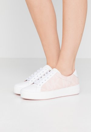 POPPY LACE UP - Trainers - smokey rose