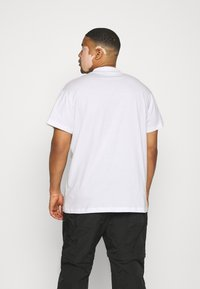 Calvin Klein Jeans Plus - CENSORED TEE - Print T-shirt - bright white - 2
