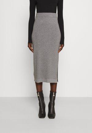 GERICO - Pouzdrová sukně - light grey