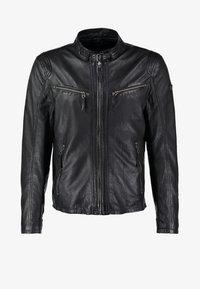 Gipsy - COBY - Leather jacket - schwarz - 7