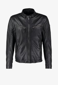 COBY - Leather jacket - schwarz