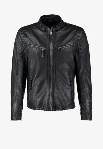 COBY - Kožená bunda - schwarz