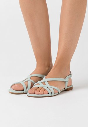 LEATHER - Sandales - mint
