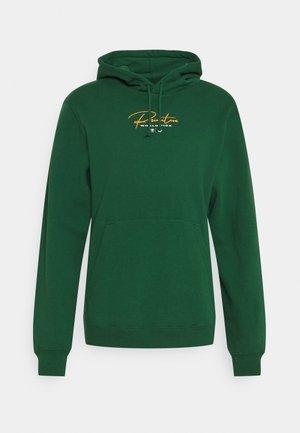 KINGDOM HOOD - Sweater - dark green