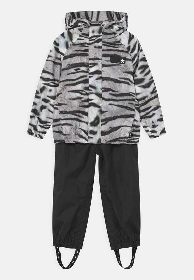 WHALLEY SET - Rain trousers - tiger black
