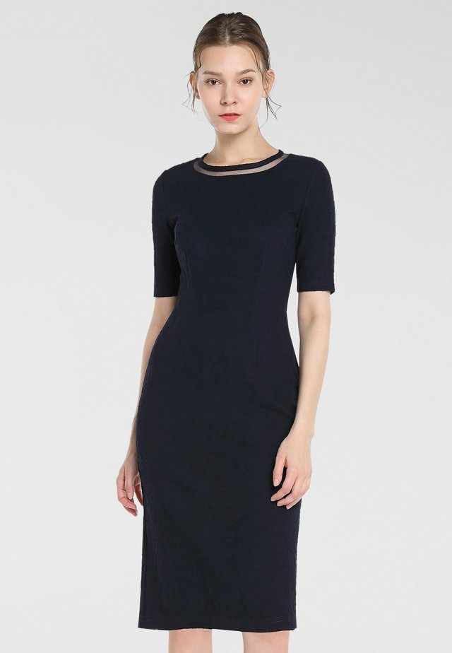 Shift dress - nachtblau