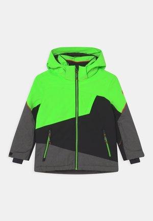 BOYS SKI - Snowboard jacket - neon grün