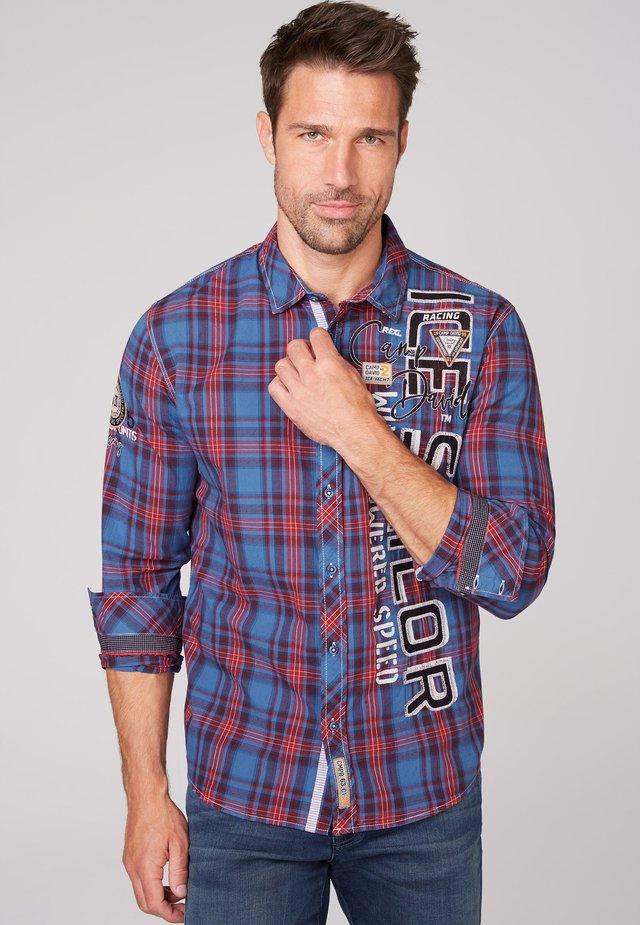 Shirt - coastal blue