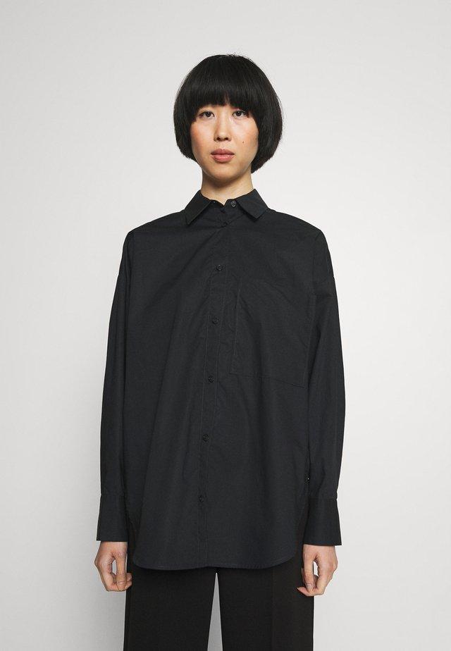 DERRIS - Button-down blouse - black