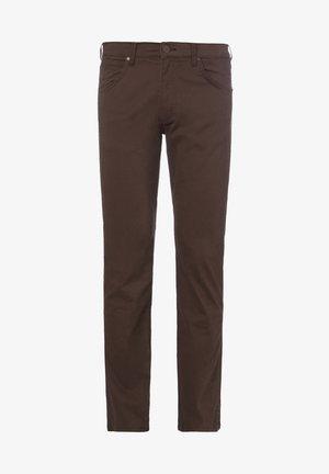 GREENSBORO - Trousers - coco brown