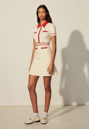 ROBE MINIMAL - Denní šaty - ecru