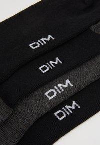 DIM - CREW SOCKS ECO DIM STYLE 4 PACK - Strumpor - black/grey - 2