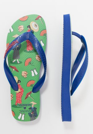 TOP JAPAN - Pool shoes - marine blue