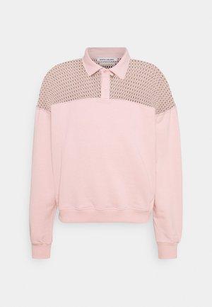GAVIN - Sweatshirt - silver pink