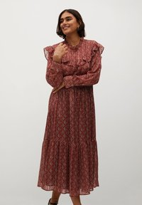 Violeta by Mango - COUNTRY - Day dress - bräunliches orange - 0