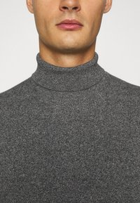 Burton Menswear London - FINE GAUGE ROLL  - Jumper - grey - 5