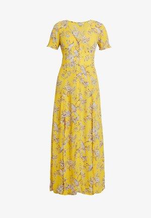 BIRD BUTTON THROUGH DRESS - Maxikjole - yellow