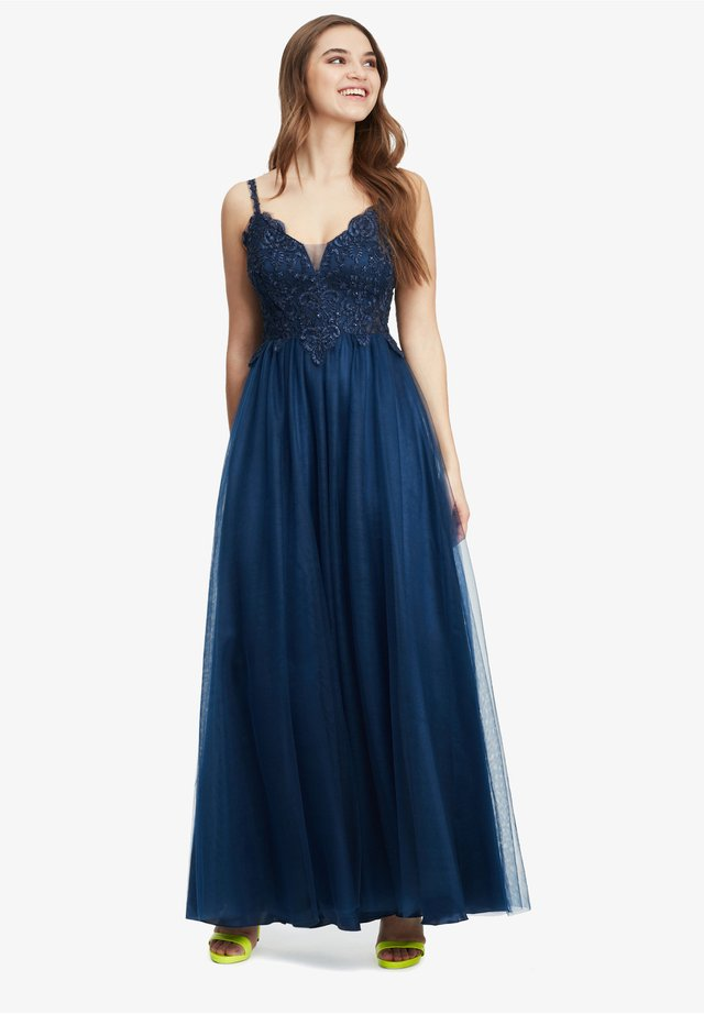 MIT STRASS - Cocktail dress / Party dress - festival blue