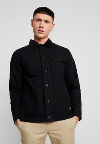 Vans - DRILL CHORE COAT - Summer jacket - black - 0