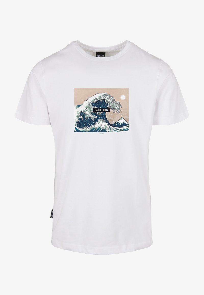 Cayler & Sons - Print T-shirt - white/mc
