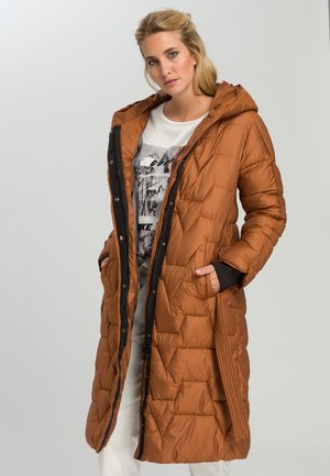 Winter coat - cognac
