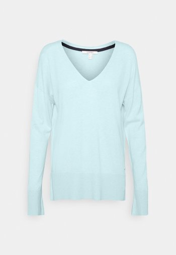 VNECK  - Jumper - light turquoise