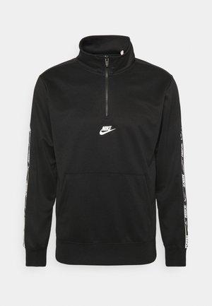 REPEAT  - Long sleeved top - black