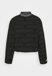 adidas Performance - CREW - Svetr - black - 3