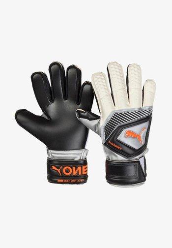 ONE PECT 3 - Goalkeeping gloves - schwarzsilber