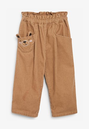 CORD CHARACTER - Trousers - tan