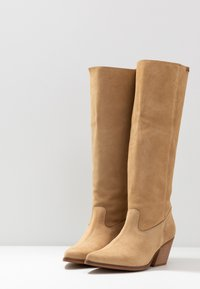 mtng - CENTA - Cowboy/Biker boots - beige - 4