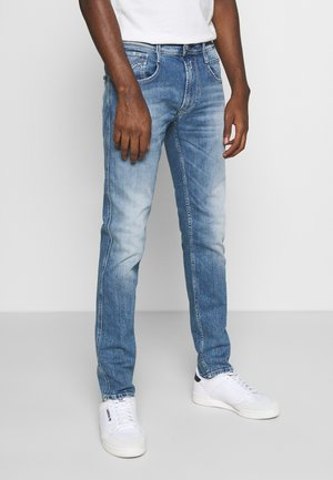 ANBASS - Slim fit jeans - light blue