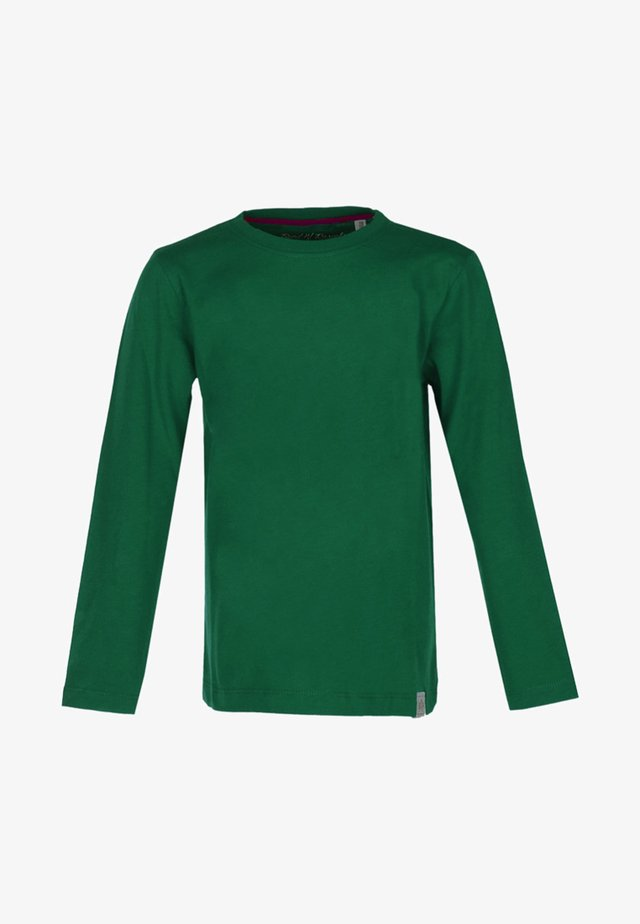 Long sleeved top - dark-green