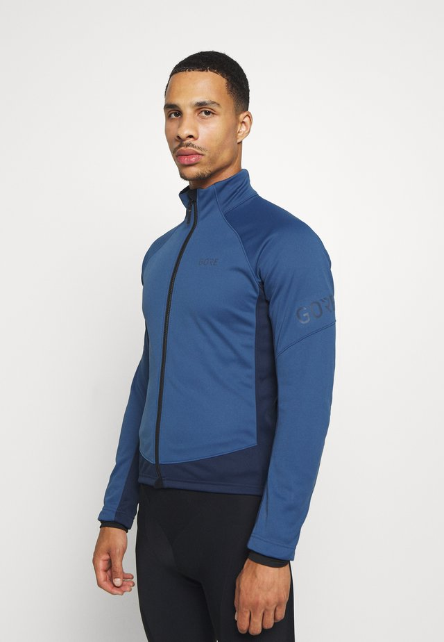 TEX INFINIUM™ THERMO - Soft shell jacket - deep water blue/orbit blue