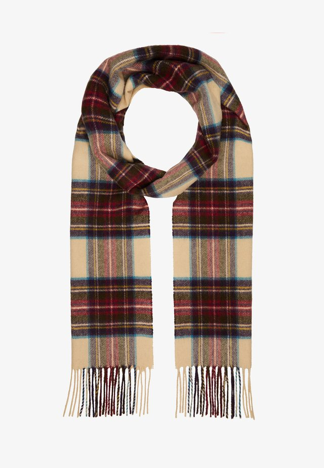 100% Cashmere Tartan Scarf - Scarf - hessian dress steward