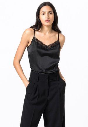Maglia del pigiama - schwarz
