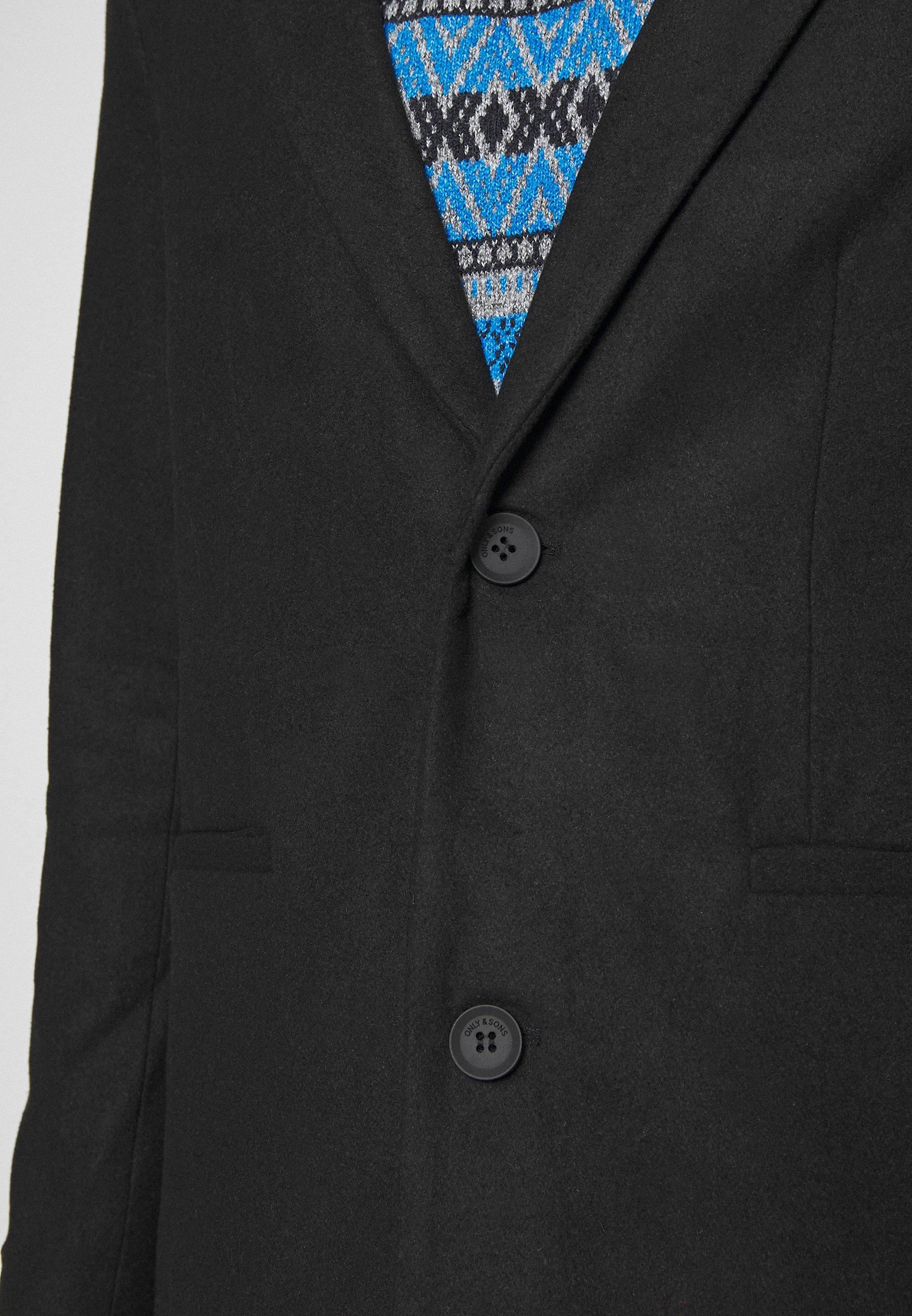 ONSMAXIMUS COAT Mantel black