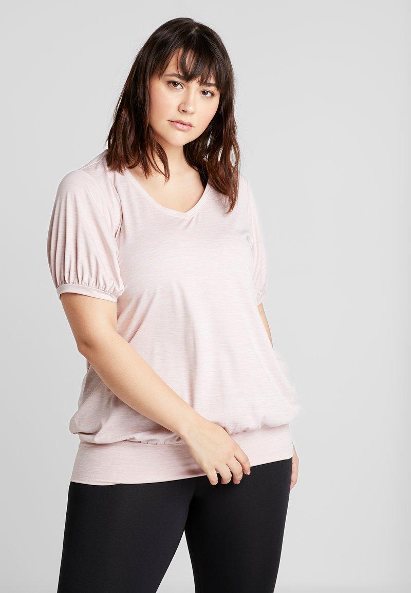 Active by Zizzi - ASAN FRAN - Basic T-shirt - pale mauve