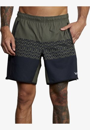 VA SPORT YOGGER STRETCH - Shorts - olive black va
