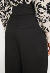 EDITED - LELIA PANTS - Trousers - schwarz - 5