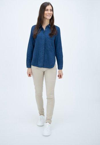 HAILEY - Button-down blouse - blue