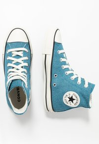 Converse - CHUCK TAYLOR ALL STAR - Höga sneakers - egyptian blue/agate blue/egret - 1
