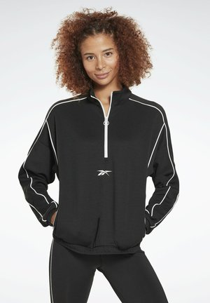 WORKOUT READY 1/4 ZIP SWEATSHIRT - Sweatshirt - black
