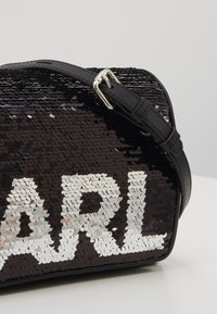 KARL LAGERFELD - SHOULDER BAG - Across body bag - black - 6