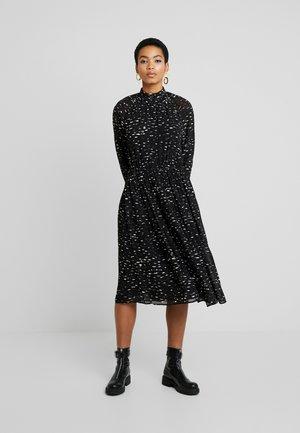 SAGAMI DRESS - Denní šaty - black